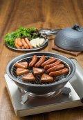 陶器の燻製も出来るパーティ鍋(4人用)