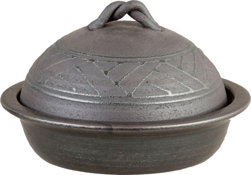 画像5: 【送料無料】陶器の燻製も出来るパーティ鍋(2人用)