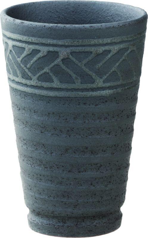 画像1: 黒銀彩 焼酎カップ(300ml)