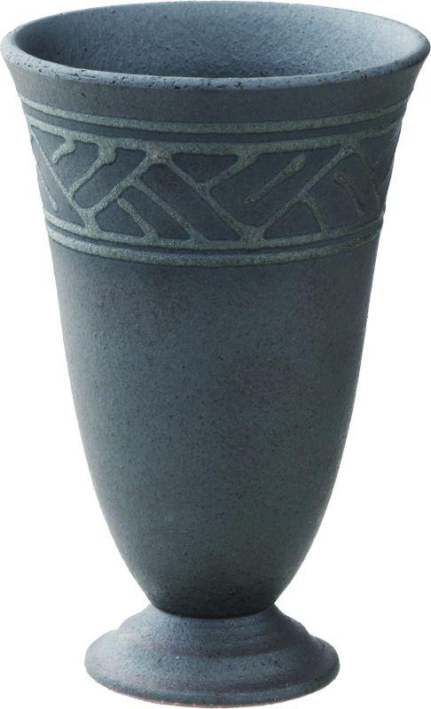 画像1: 黒銀彩 ゴブレット(280ml)