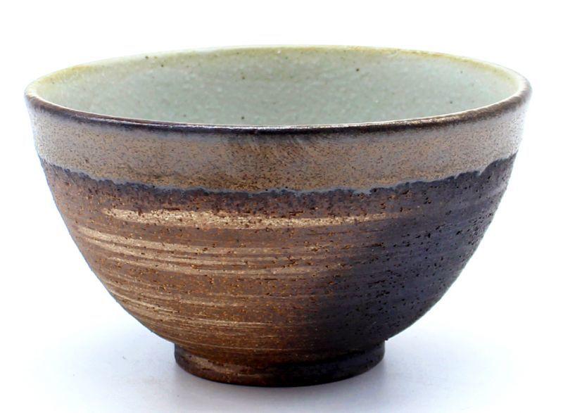 画像1: 金彩 茶碗(L)(400ml)