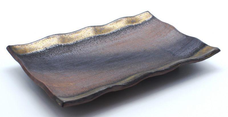 画像1: 金彩 焼物皿