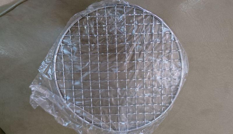 画像1: 【送料無料】陶器の燻製も出来るパーティ鍋(2人用)の交換網